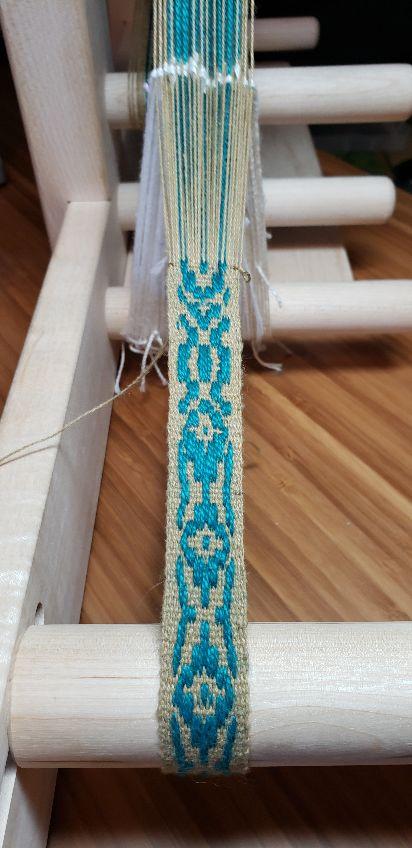 monks belt on inkle loom | Weavolution